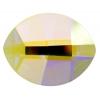 Swarovski Pure Leaf 2204 14x11mm Aurora Borealis Crystal